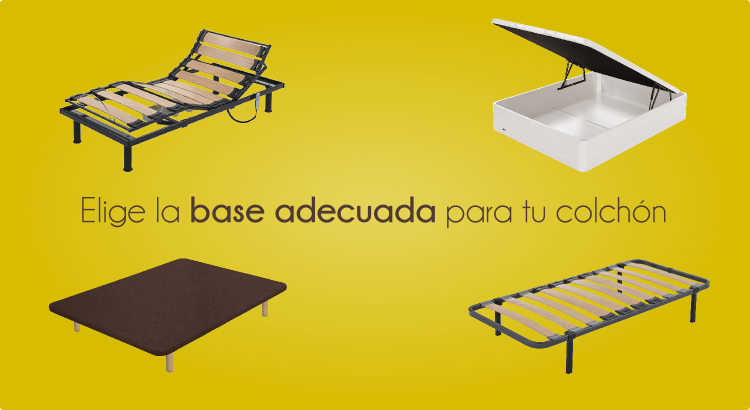 Elegir la base adecuada para el colchón