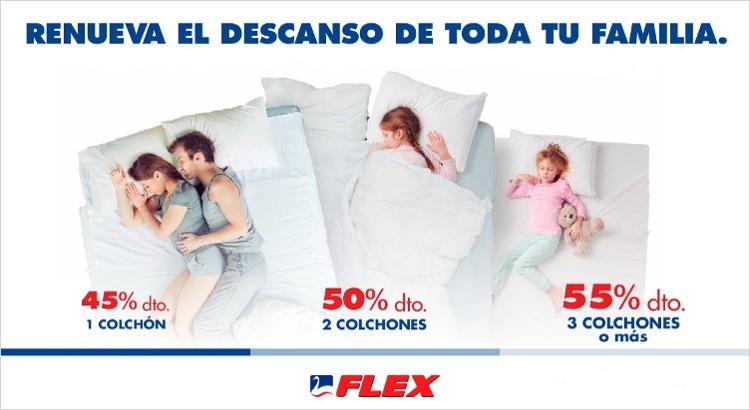 Oferta Colchones Flex: Renueva tu hogar