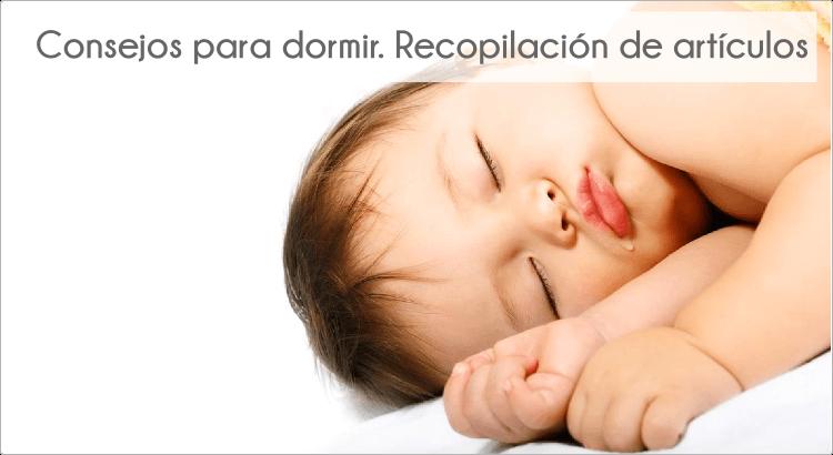 Consejos para dormir. Recopilación de artículos