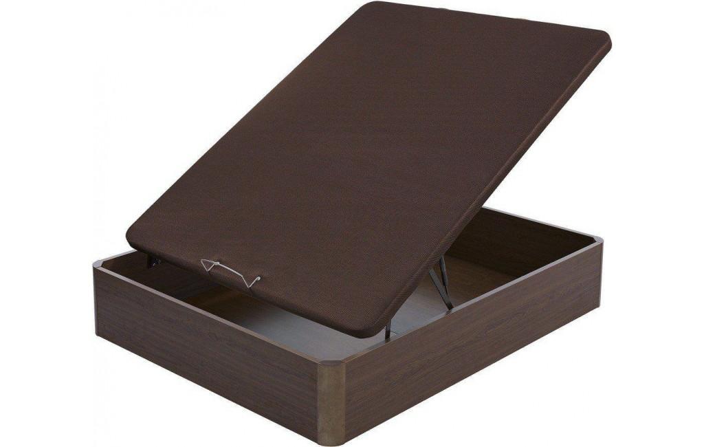 Canap abatible madera 25 mm con tapa en 3d de flex for Canape abatibles