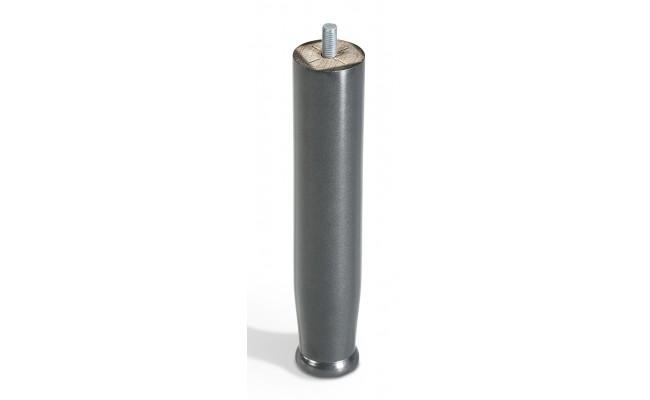 Juego 2 Patas Madera Gris Metalizado 24/30 cm