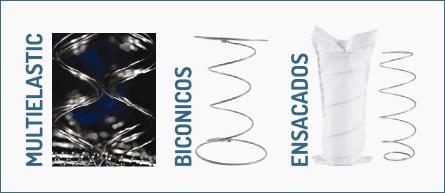 Colchones muelles flex colch n multielastic y ensacado - Diferencias entre colchones ...
